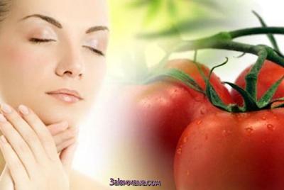 الطماطم التجميل البشرة