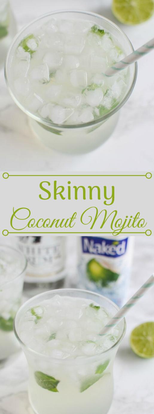 Skinny Coconut Mojito #coconut #drink #mojito #recipes #easy