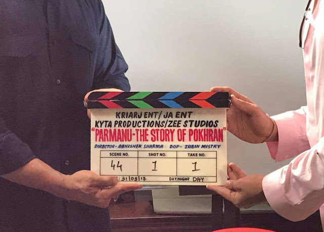 John Abraham starts shooting for his next film titled Parmanu