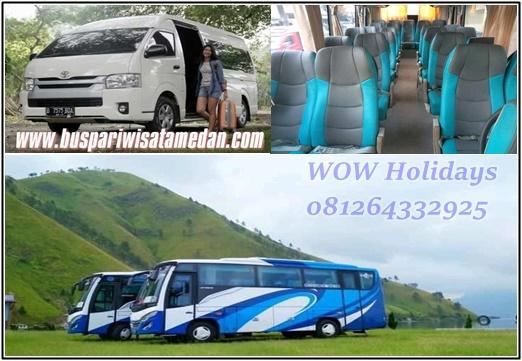 Medium Bus Pariwisata Medan