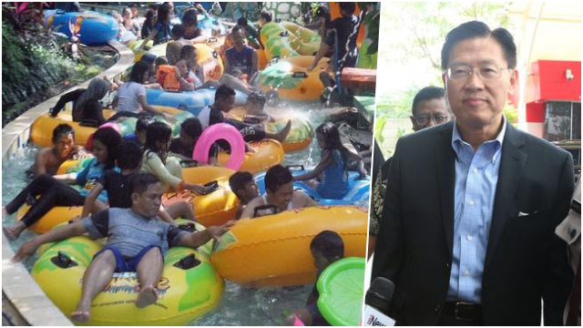 Kerumunan di Waterboom Lippo Cikarang, KNPI Desak Polisi Tangkap James Riyadi