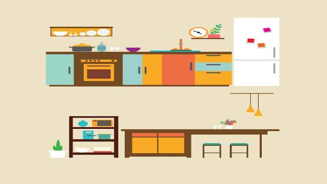 furniture kitchen set
