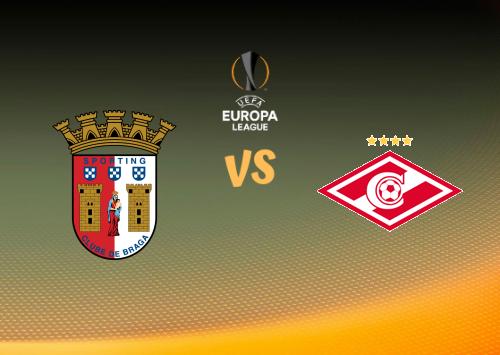 Sporting Braga vs Spartak Moscú  Resumen