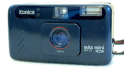 Konica Big Mini Jr. BM-20, Front right