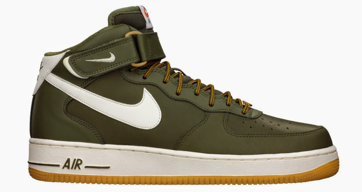 "size 40 b39ab 2c4aa Fresh off releasing in its highly anticipated ""Flax"" colorway, the Nike Air  Force 1 Mid returns in yet another seasonal style code."