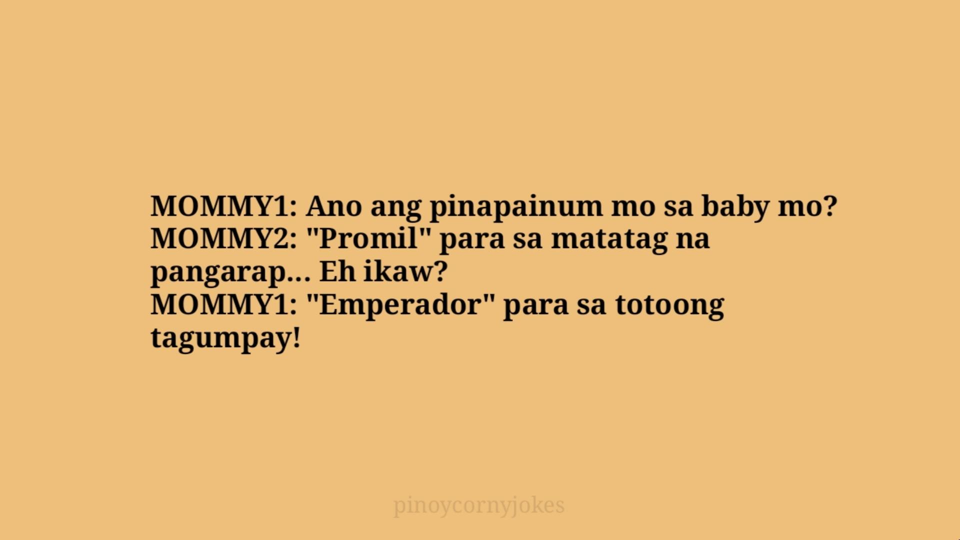 mommy joke time pinoy