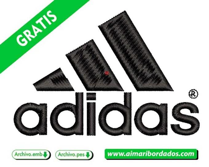 Diseño logo ADIDAS para bordados | Descarga GRATIS