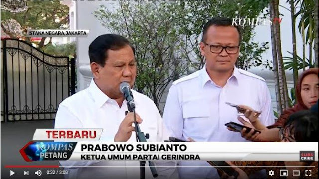 Gerindra Jawab Kabar Kenaikan Pangkat Kehormatan Jenderal Bintang 4 untuk Prabowo Subianto