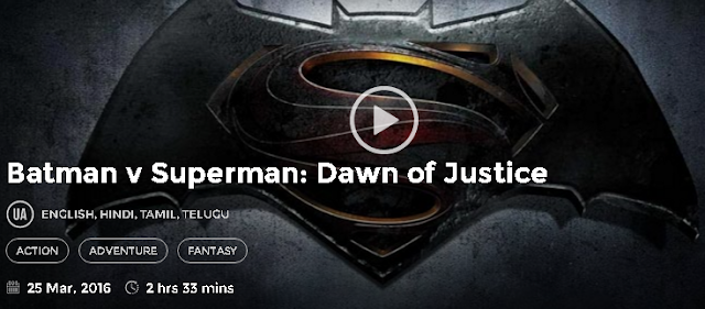 Batman v Superman Dawn of Justice (2016) Hindi Dubbed Movie Download 700mb 300MB
