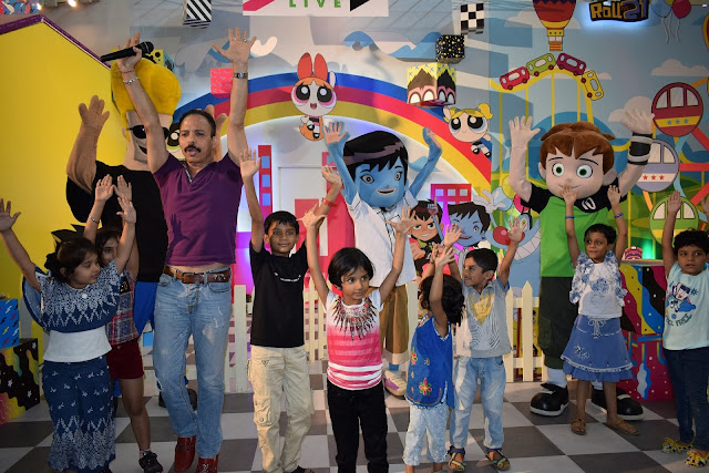 Viviana Mall and Cartoon Network partner to promote fitness awareness campaign amongst kids