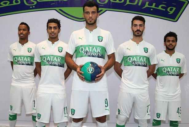 Puma lança novas camisas do Al-Ahli Saudi - Show de Camisas f2c168e033184