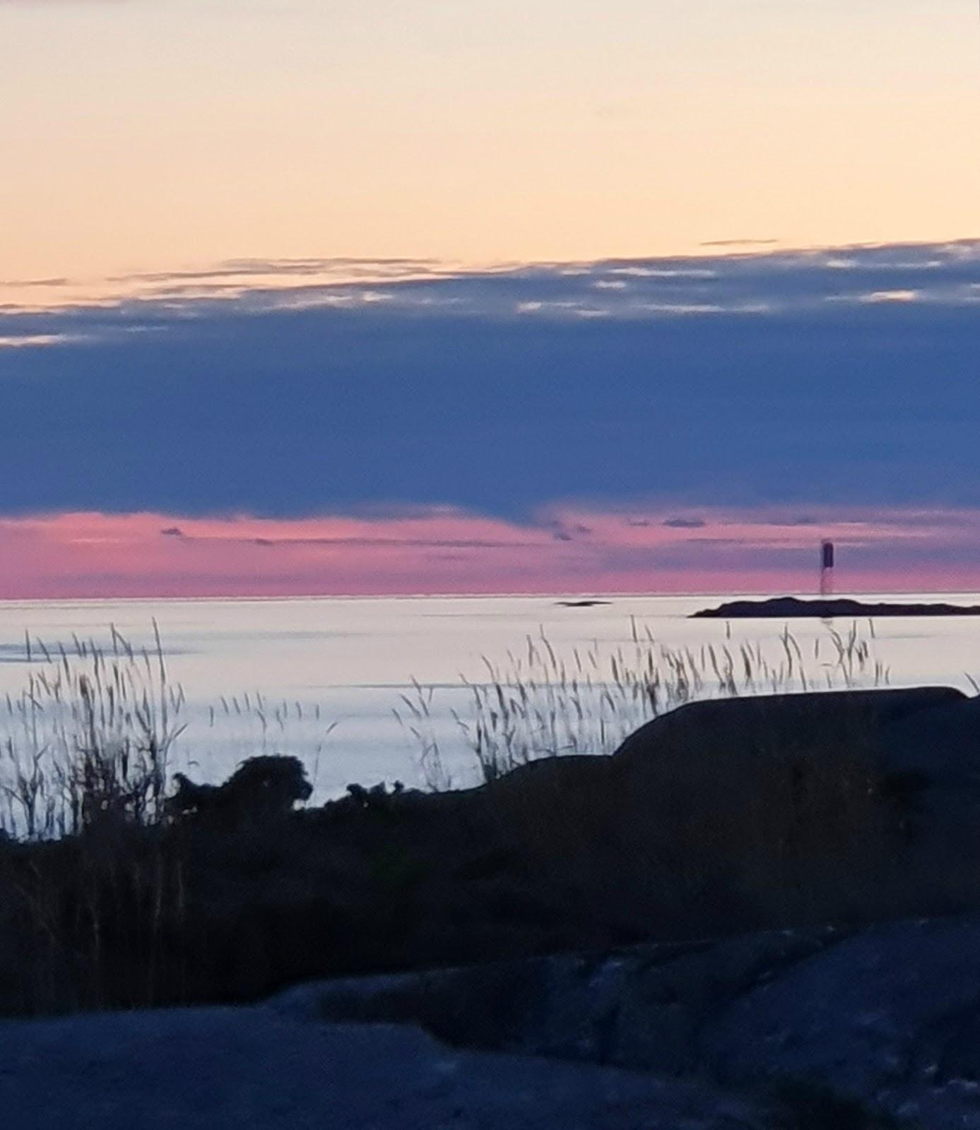auringonlasku Utössä