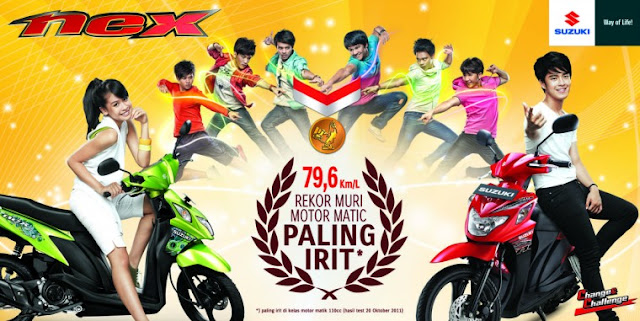 Harga Jual Suzuki Nex Terbaru 2016