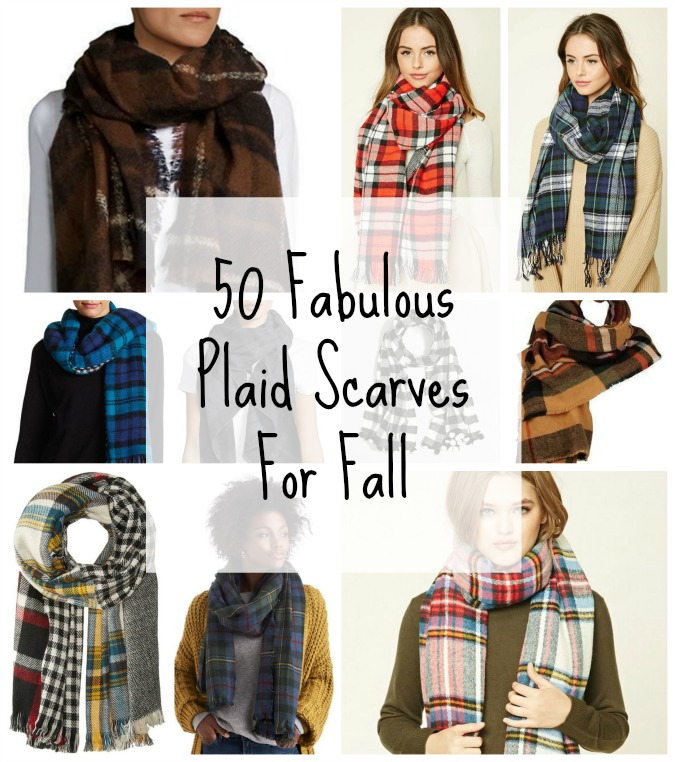50 Fabulous Plaid Scarves