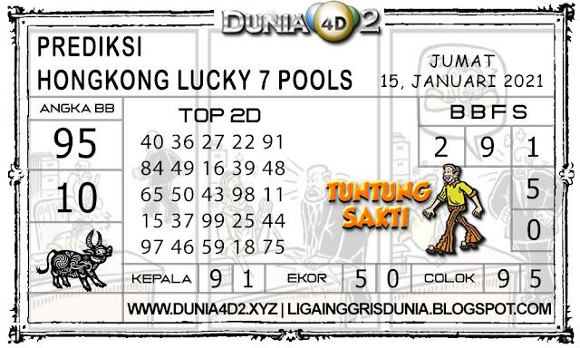 Prediksi Togel HONGKONG LUCKY7 DUNIA4D2 15 JANUARI 2021