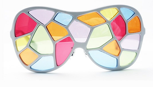 Factory900's stained glass window sunglasses