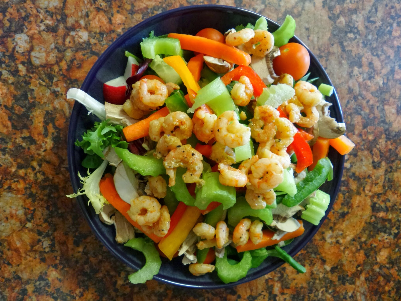 Lemon and Herb Prawn Salad