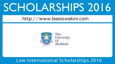 Law International Scholarships 2016