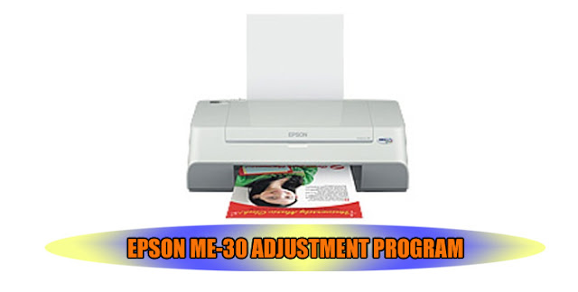 EPSON ME-30 PRINTER ADJUSTMENT PROGRAM