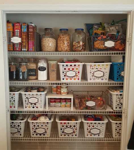 Pantry Organization Labels: Affordable Cardstock For All Your