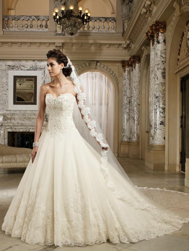 magníficos vestidos de novia colección david tutera 2014 | vestidos