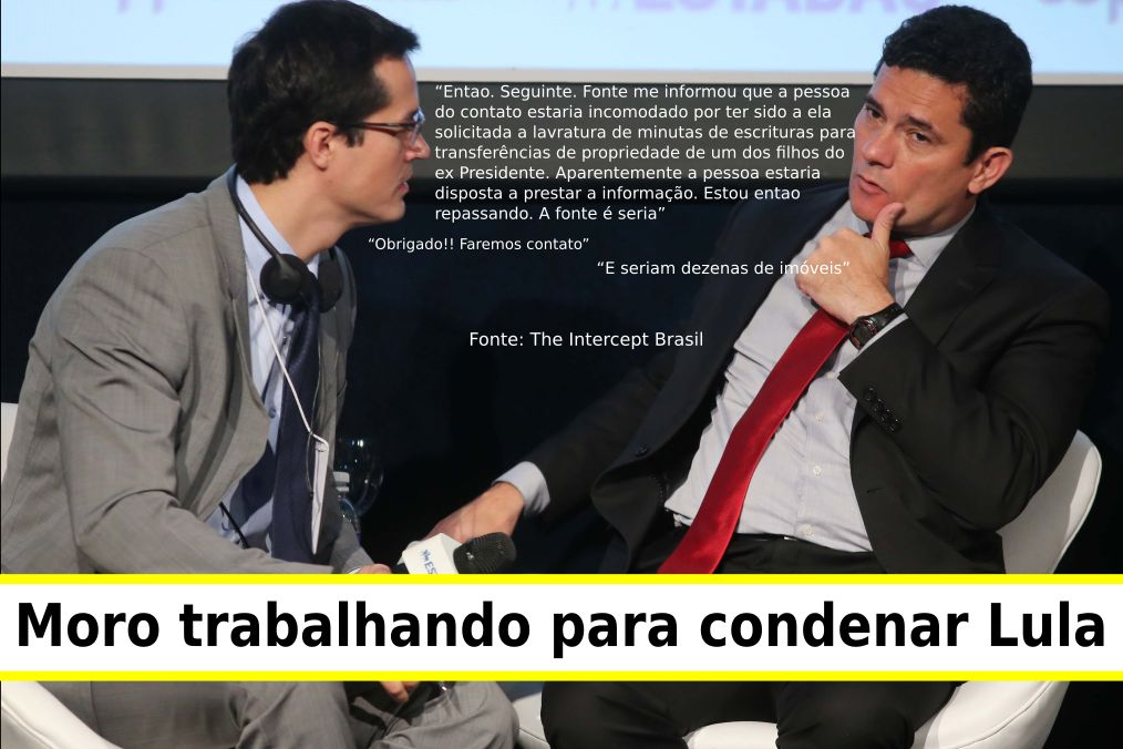 Diálogo Moro Dallagnol no Intercept Brasil