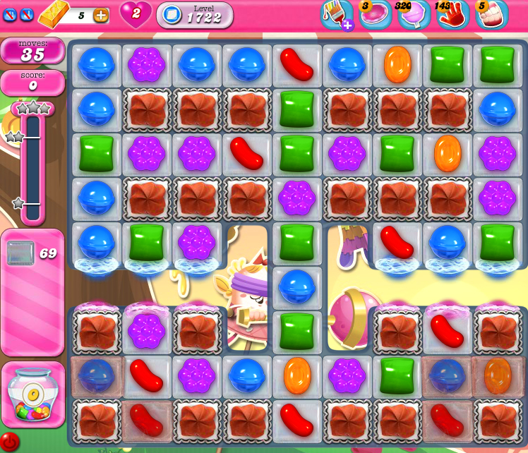Candy Crush Saga 1722