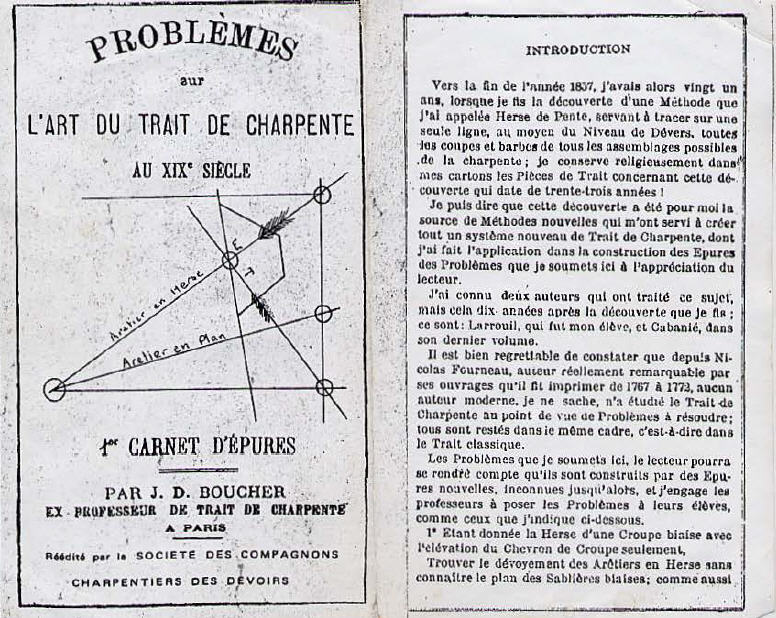Charpente générale théorique et pratique.Tome 1 - B Cabanié
