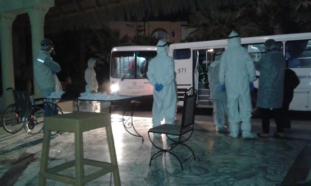 المهدية : 52 شخص يغادرون مركز الحجر الصحي الإجباري نحو منازلهم