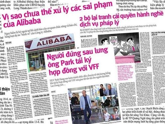 """""""Vì sao chưa thể xử lý các sai phạm của Alibaba"""""""