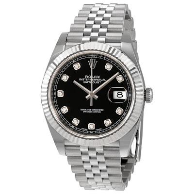 Pajak Rolex Datejust-Black-Diamond-Dial-126334) Box/Cert Pajak 25,000