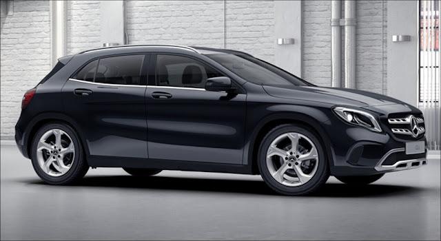 Mercedes GLA 250 4MATIC 2019 được thiết theo phong cách thể thao, mạnh mẽ