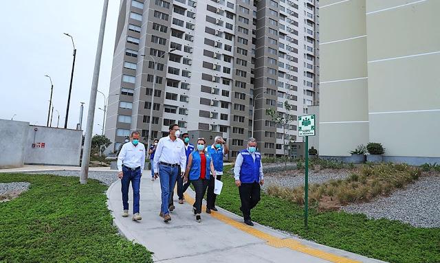Presidente Vizcarra inspecciona Villa Panamericana