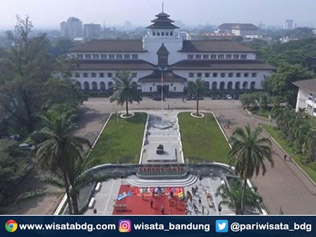 Awal Tahun 2020, di Bandung Hadir Taman Gedung Sate, Taman Pakuan, dan Taman Saparua