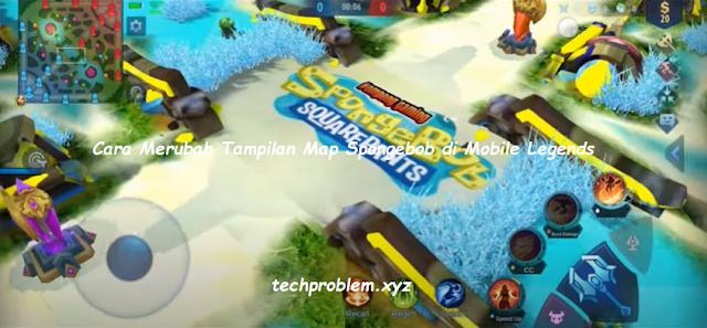 Cara Merubah Tampilan Map Spongebob di Mobile Legends