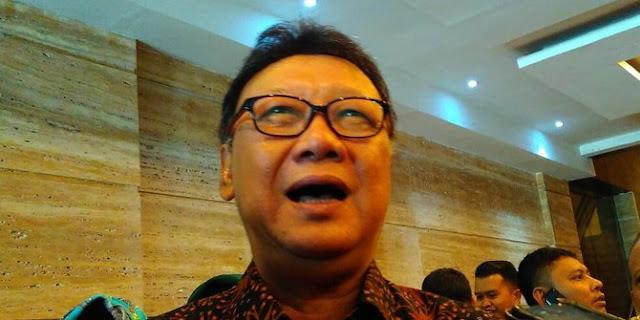 Surati Veronica, Mendagri Tjahjo Kumolo Bertanya Apa Salah Pak Jokowi pada Pak Ahok