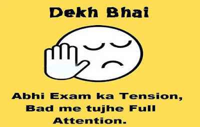 Exam Status for Whatsapp