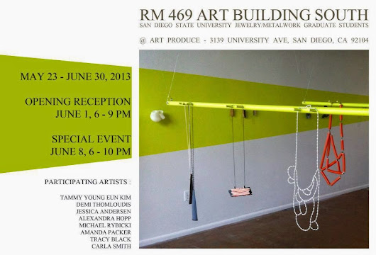 RM 469 Art Building South Exibition