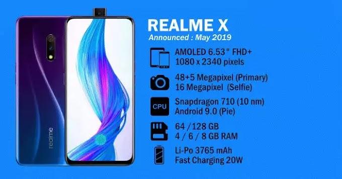 Realme X smartphone Update  has been released