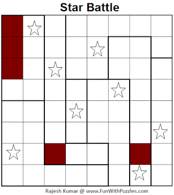 Star Battle (Mini Puzzles Series #21) Solution