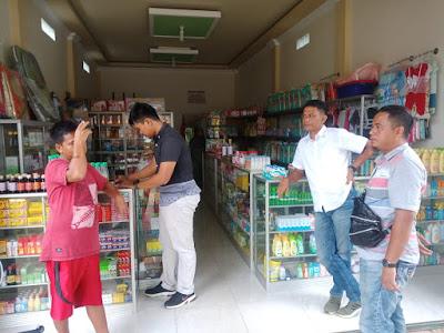 Antisipasi Penyelewengan Masker Satreskrim Polres Tanjabtim Sidak Ke Apotik, Serta Berikan Himbauan Tegas