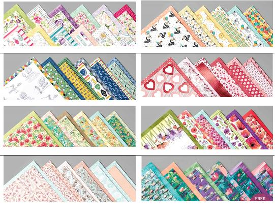Spring/Summer 2020 paper shares by Jemini Crafts