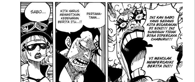 Spolier Manga One Piece 957 - Eksekusi Sabo Tertangkap
