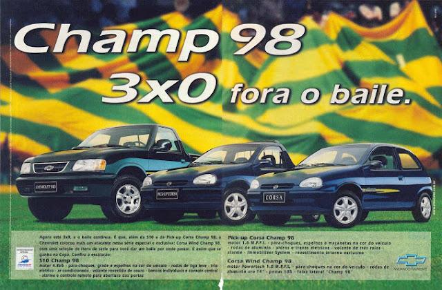 Champ 98 edición especial conmemorativa del mundial de fútbol