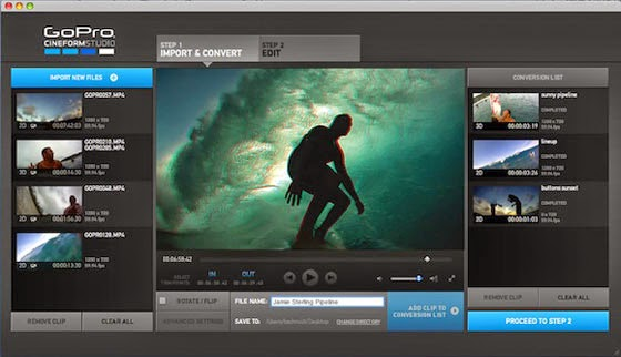 Download GoPro Hero Camera Studio Editor