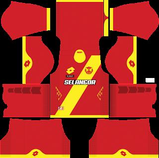 jersey dream league soccer 2016 selangor