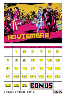 Bonus Stage Magazine: Calendario 2016