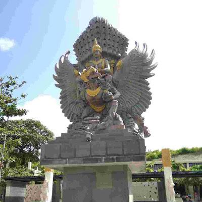 Patung Brahmana Pantai Pandawa