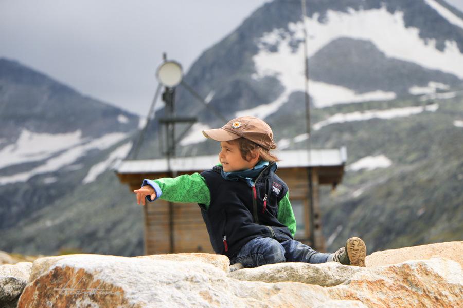Urlaub mit Kindern Rudolfshütte
