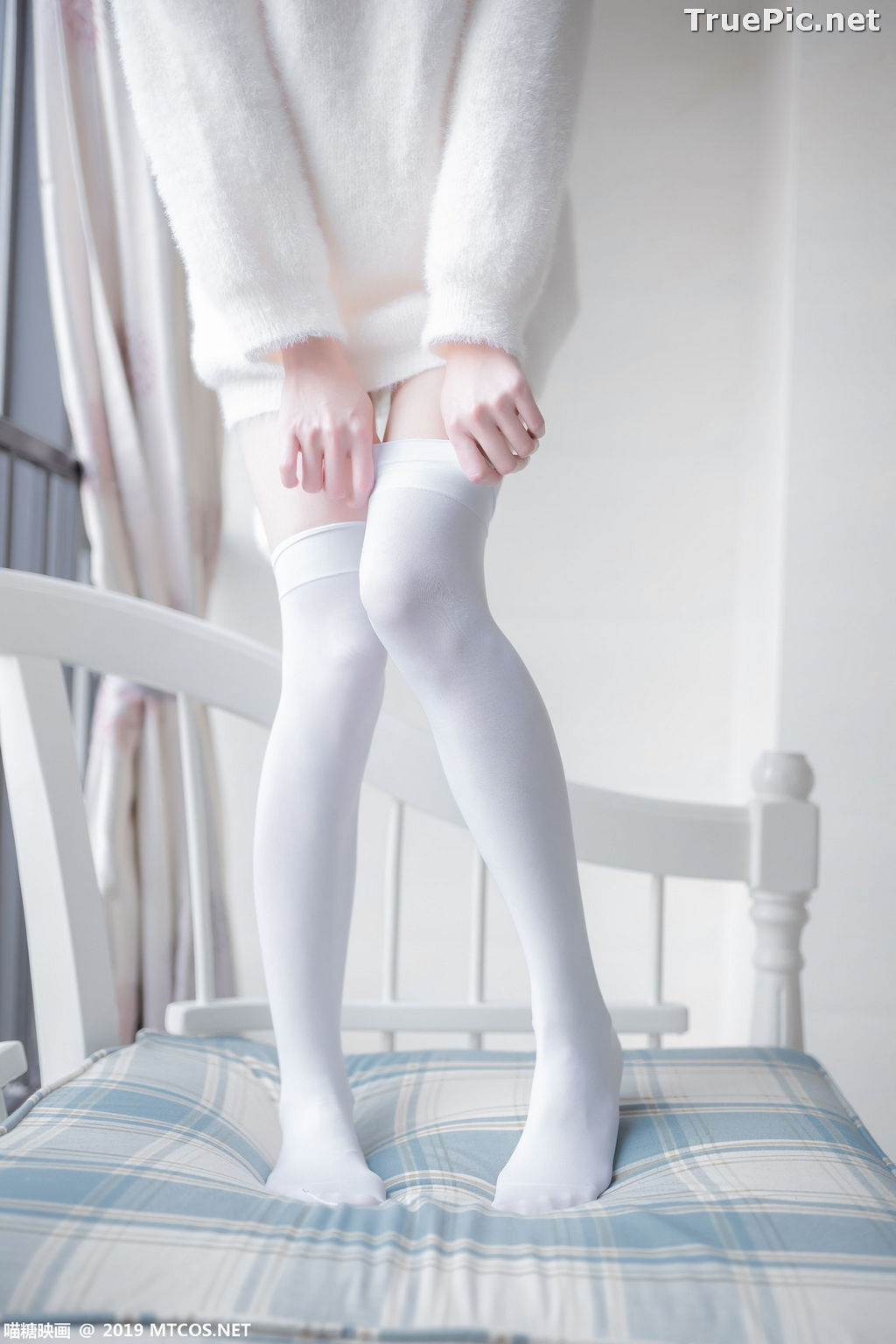Image [MTCos] 喵糖映画 Vol.027 – Chinese Cute Model – Beautiful White Cat - TruePic.net - Picture-3